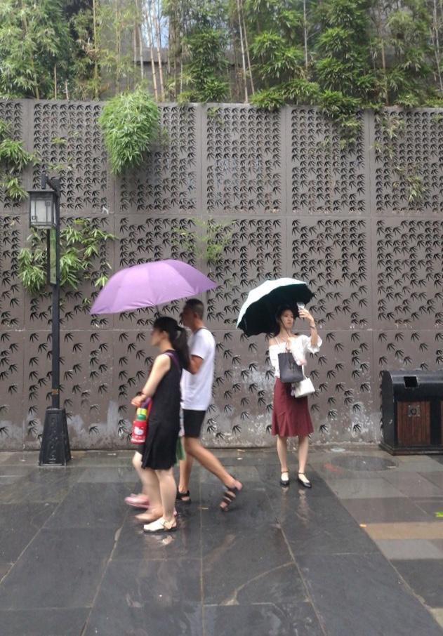 """今日的雨水只是小插曲 成都明晚加入强降雨""""战队"""""""