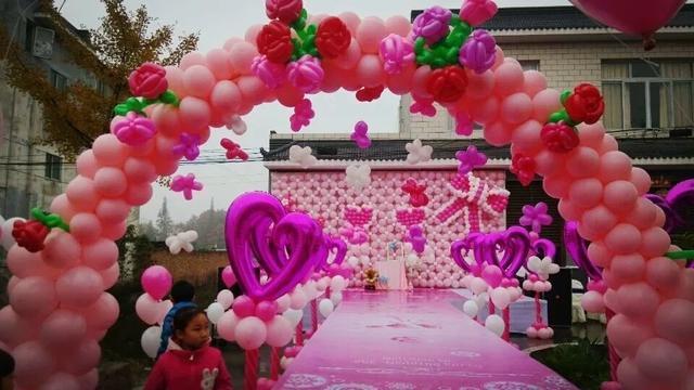 超实用气球婚礼使用法则 让你的婚礼多点颜色