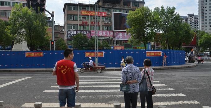 宁化:文明交通我先行,志愿服务暖人心