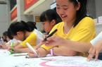 世界人口日,南安市小朋友用画笔绘幸福未来