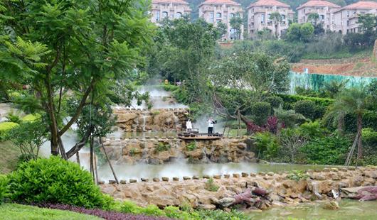 永春大力開展全城植綠 荒地變公園