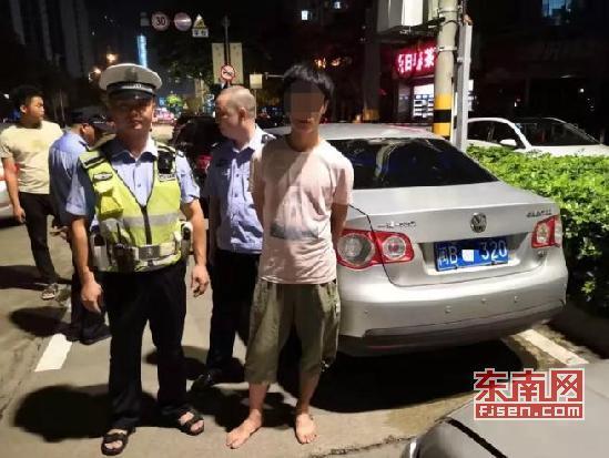 莆田:男子使用假驾驶证驾车上路被交警查获