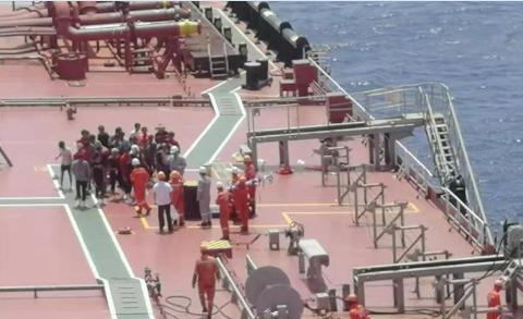 琼海遇险渔船32人全获救,来自海南湖南贵州等地!越南渔船相助
