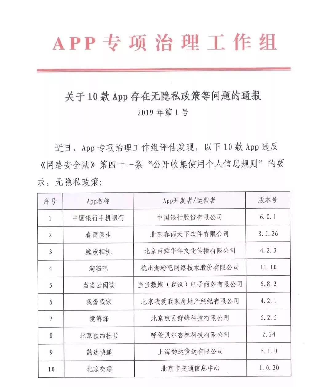30款App违规收集个人信息真的吗?30款App分别是哪些完整名单曝光