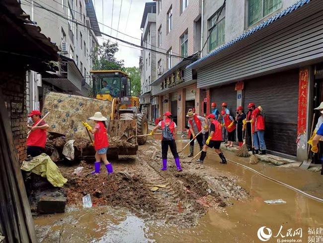 南平浦城:有序开展灾后重建和恢复生产工作