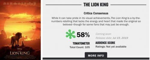 狮子王只有一个镜头是实拍真的吗?真人版狮子王哪个镜头是实拍的