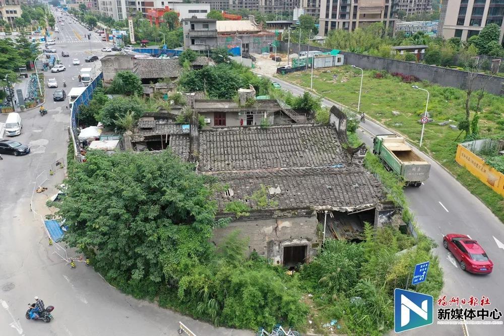 竹屿路邓家骅故居及邓拓祖居下月开始就近保护迁建