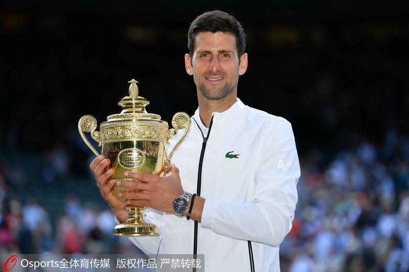 3-2胜费德勒 德约卫冕温网冠军 夺第16个大满贯