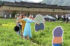 福建永泰:首届两岸花生节举行