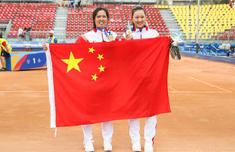 中国网球女双摘金 中国网球女双18年以来大运会首度摘金