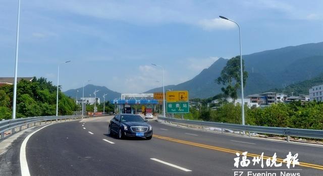 福银高速竹岐互通连接线拓宽改造工程完工 有效改善交通拥堵