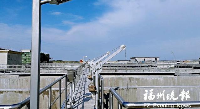 滨海工业区污水处理厂二期本月试运行 日处理污水9万吨