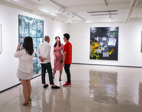 展現福建當代藝術張力 當代藝術沙龍展在福州開展