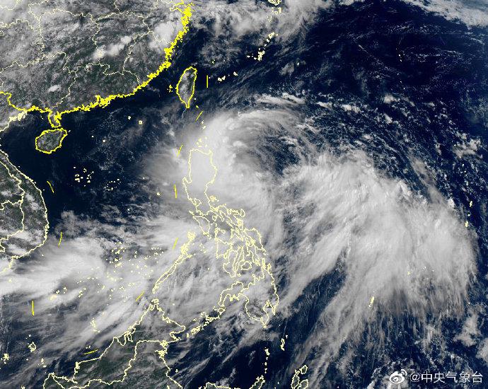台风丹娜丝实时路径图最新,台风丹娜丝生成19日登陆广东!