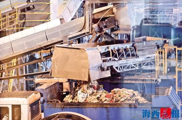 厦门厨余垃圾每天可发电3万度 解密厨余垃圾处理过程