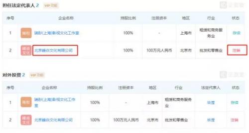 张丹峰公司注销什么情况?张丹峰公司法人是谁 公司注销意味着什么