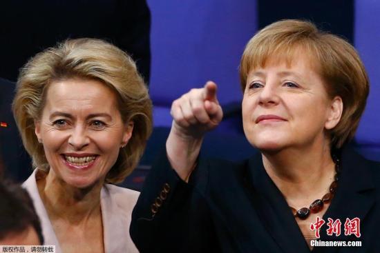 """冯德莱恩艰难""""过关""""成为欧盟委员会首位女主席"""