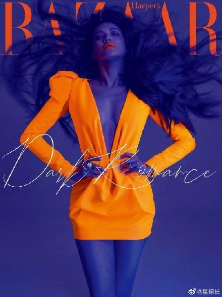舒淇荧光橙造型太惊艳性感满分,舒淇荧光橙造型怎么回事
