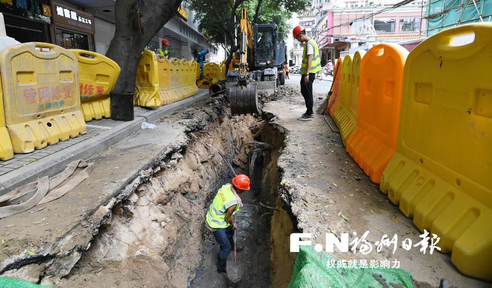 首道防线要筑牢 福州四城区源头纳污改造已完成34.8公里