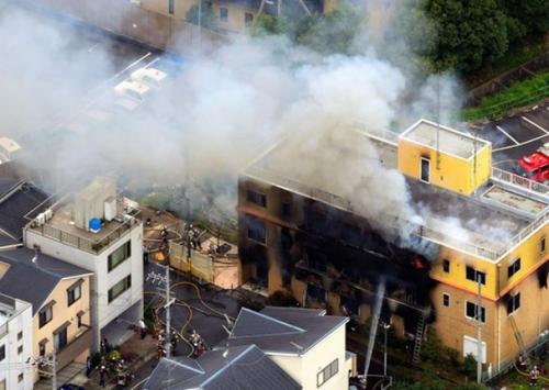 京都动画发生爆炸
