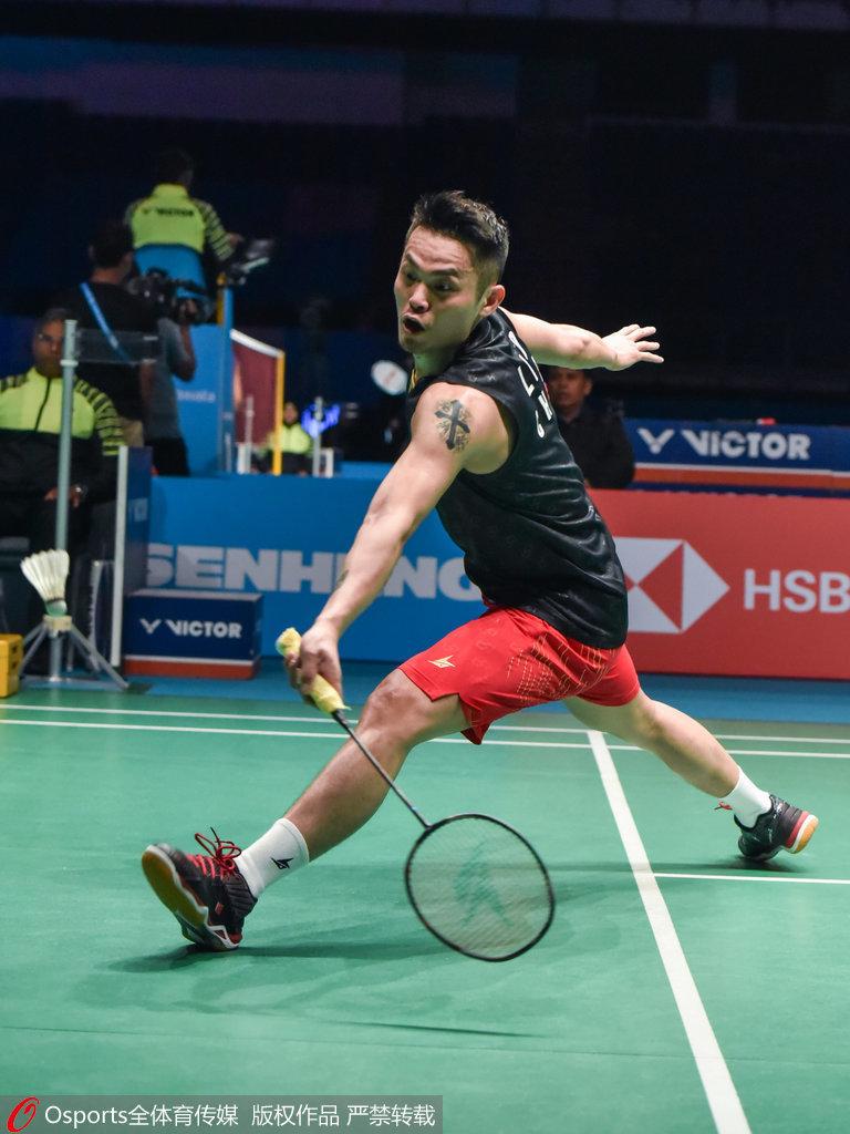 印尼賽林丹三局苦戰惜敗 負周天成無緣男單八強