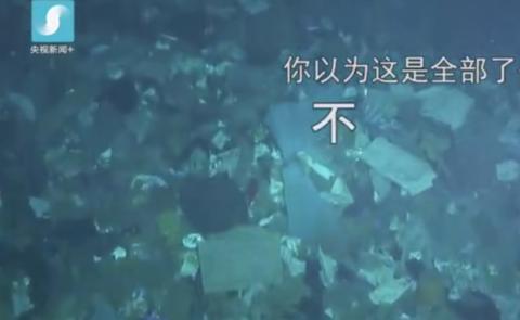 海底巨型垃圾場什么情況?海底巨型垃圾場現場圖原因揭秘