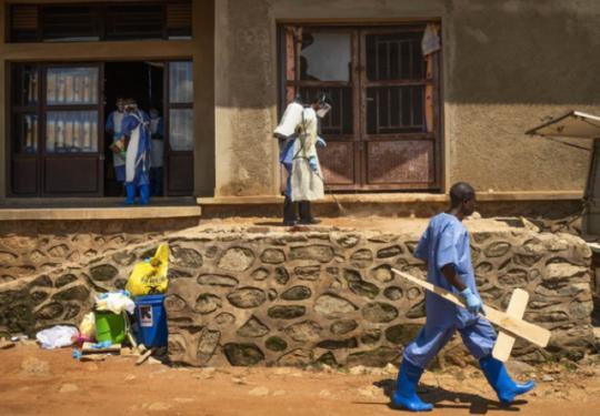 刚果埃博拉疫情致1600人死亡 世卫组织:全球紧急卫生事件