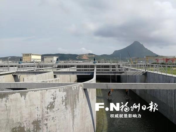 福州滨海污水处理厂二期试运行 日处理污水将提升至9万吨