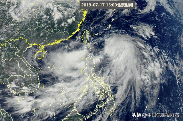 2019台风路径最新消息:台风丹娜丝明天登陆朝鲜 台风丹娜丝生成路径更新