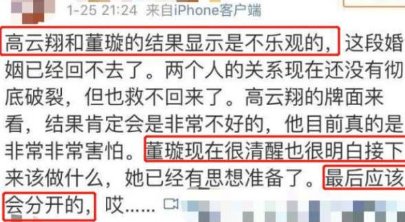 曝董璇离婚原因真相最新消息 高云翔性侵案后续离婚疑似保护财产(3)