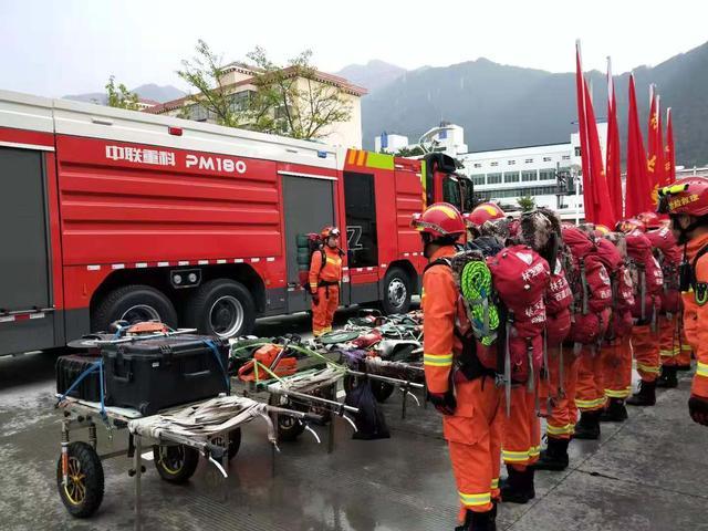 西藏消防集结待发|西藏山南市错那县境内发生5.6级地震