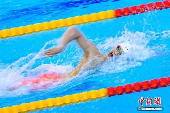 孙杨光州首秀第一什么情况 孙杨晋级400米自由泳决赛