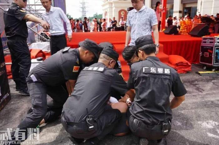 任达华中山遇刺后,负责安保的保安公司发官微自夸被网友吐槽
