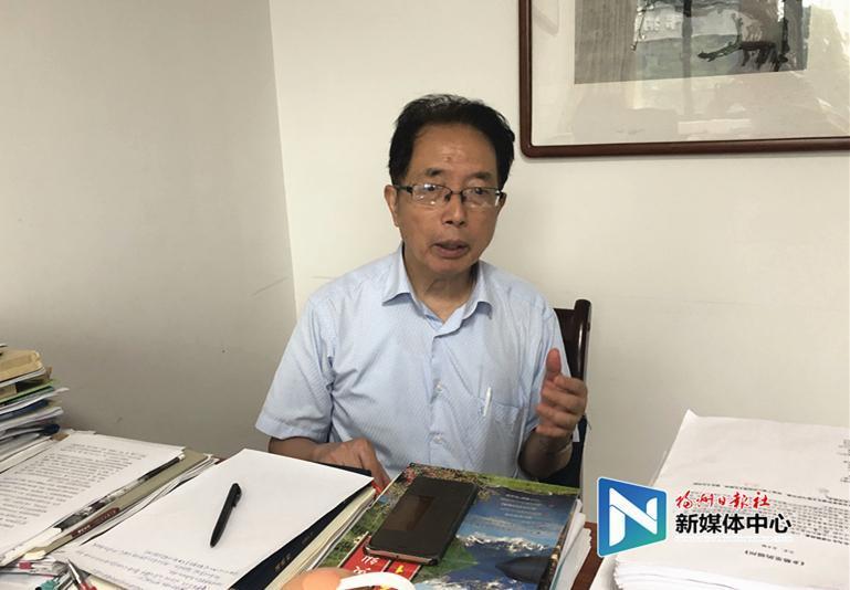 著名文史专家卢美松为福州古厝保护建言献策