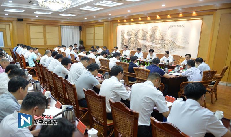 王宁主持召开中央生态环境保护督察边督边改工作推进会
