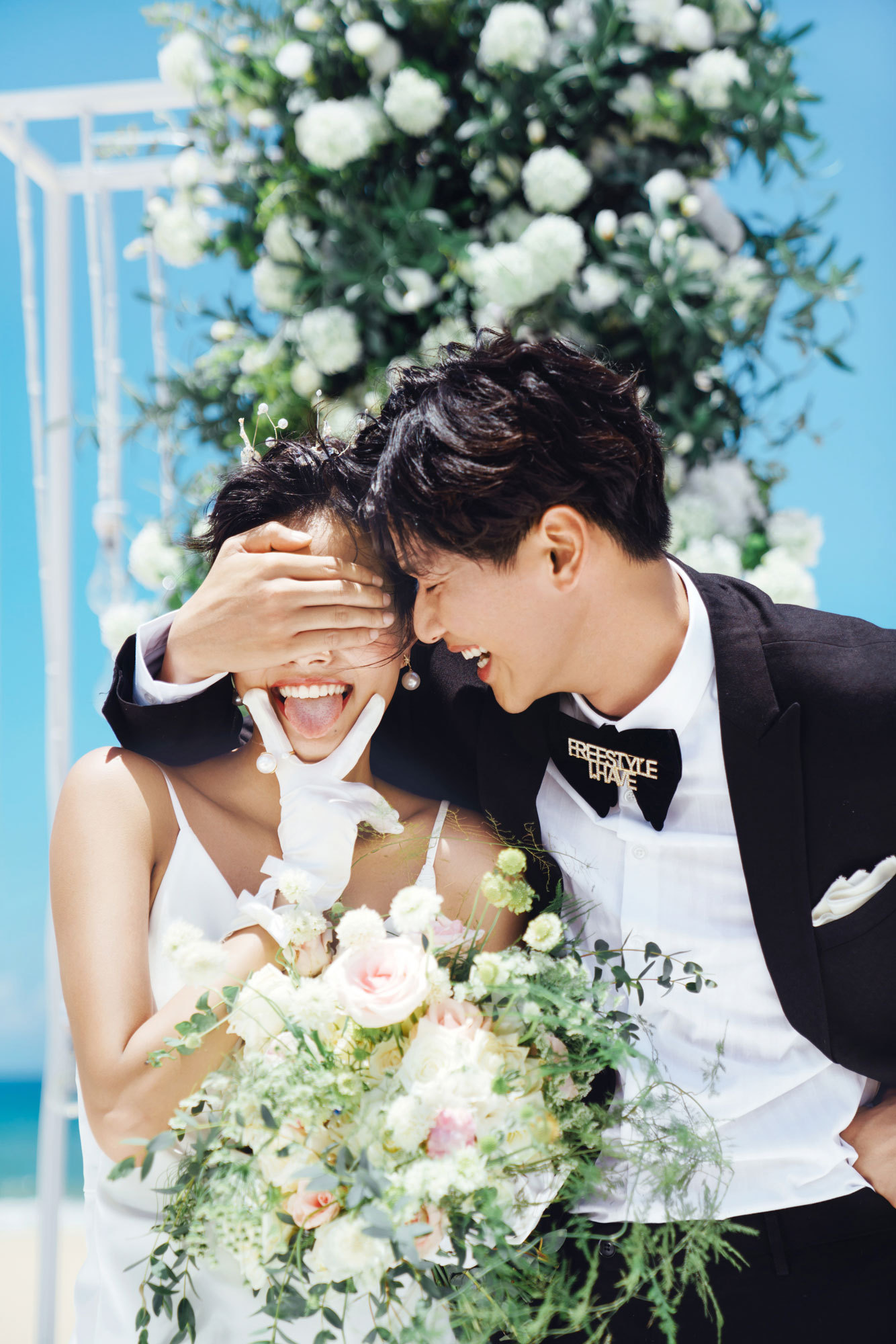 超丰富的甜蜜婚礼时间表 新人备�口而出婚必备