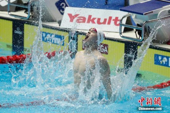 3天5枪2000米 孙杨晋级世锦赛800自决赛