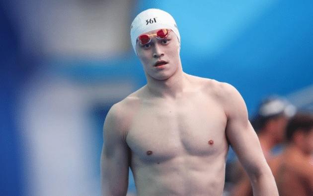 200米自由泳拉普赛斯犯规 孙杨自由泳夺冠