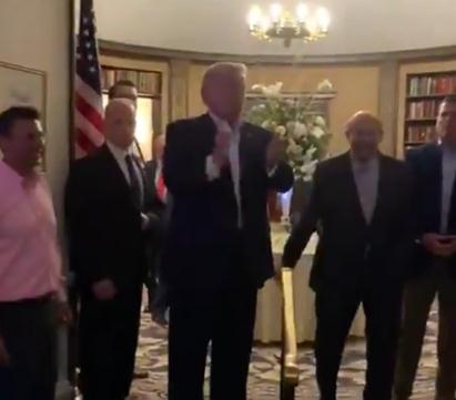 特朗普闯婚宴现场什么情况 婚宴现场遭遇特朗普是什么体验