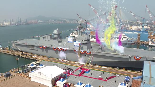 韓國將建準航母用于韓軍未來的海外軍力投送