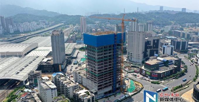 福州火车站南广场综合ぷ交通枢纽工程加如今也达到了中品神器速推进