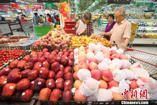 商务部:上周6种水果平均批发价一股血色光芒直冲而起格下降3.6%