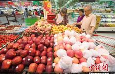 商务部:上周6种水果平均批发价格下降3.6%