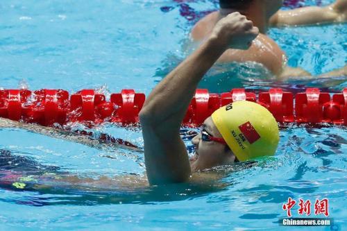 徐嘉余退200米仰泳比赛 全力备战接力项目图片 36997 500x333