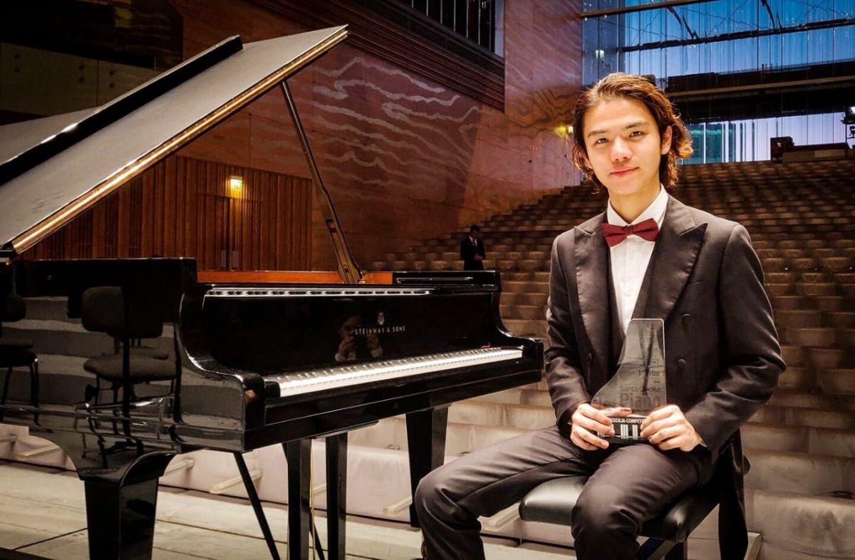 才20歲 漳州南靖小伙獲國際鋼琴比賽冠軍