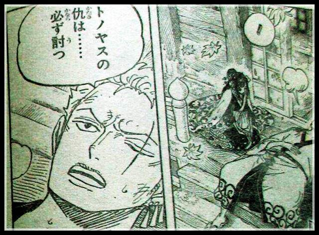 海贼王漫画950话:御庭番众被索隆一人团灭 为救日和精疲力竭