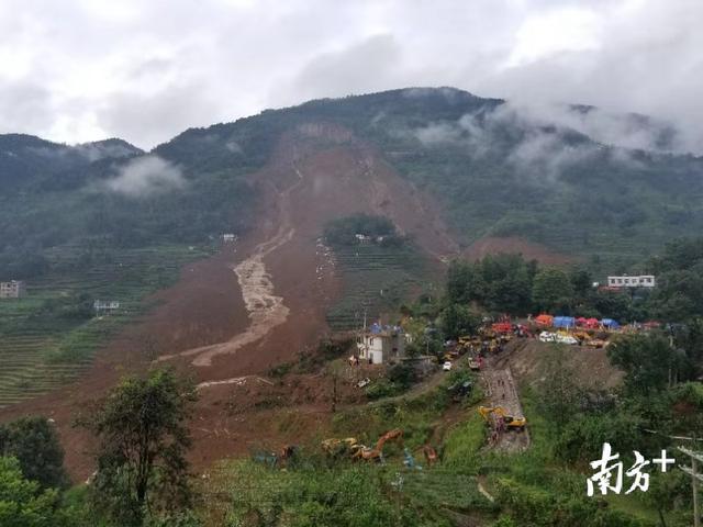 贵州滑坡致20死,贵州滑坡最新消息,贵州滑坡原因分析现场图