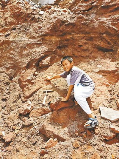 小學生發現六千萬年前恐龍蛋詳細經過 小學生怎么認出恐龍蛋的?