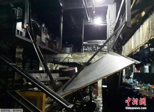 韩国光州酒吧坍塌最新消息 韩国光州酒吧坍塌现场图伤亡情况如何