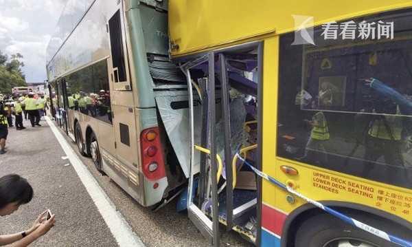 香港两巴士相撞最新消息,香港两巴士相撞77人受伤现场惨烈事故原因